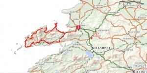 Dingle Bay Ireland Map.Walking Holidays In Ireland Dingle Way 8 Day